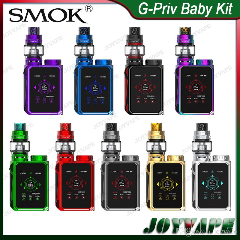 SMOK G-Priv Baby Kit Luxe Edition with TFV12 Baby Prince Tank 4.5ml & G-Priv Baby Mod 85W with Top Battery Slot 100% Original