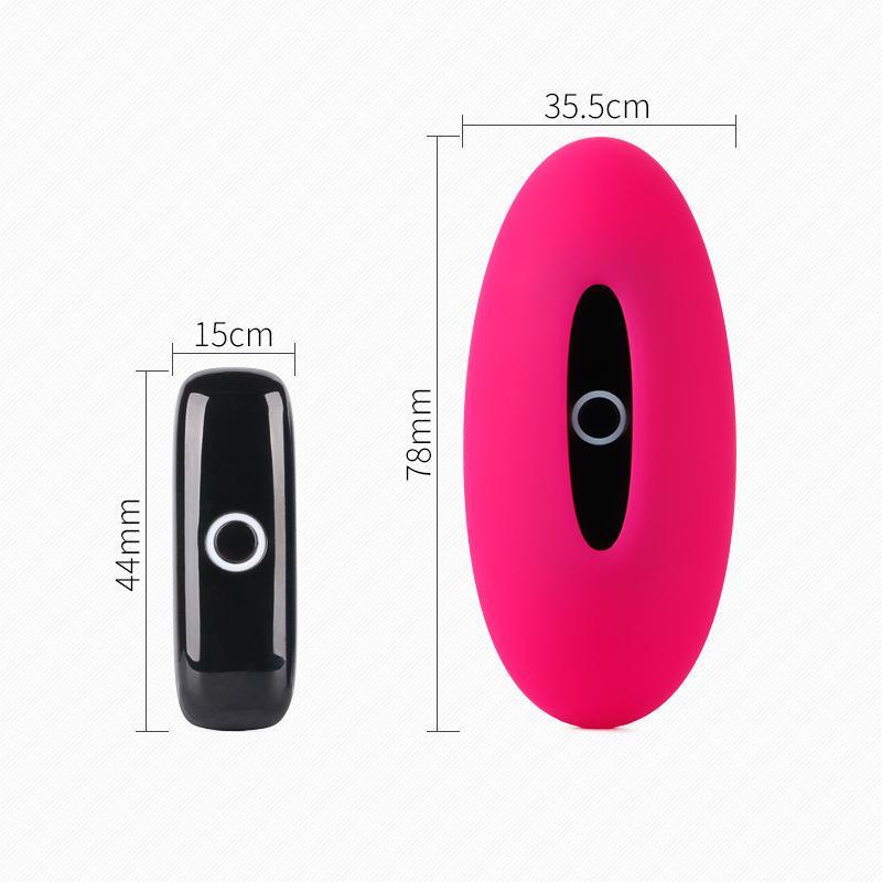 Recarregável Smart String Wearable Remoto Dildo Vibrador App App Telefone C Calcinhas Vibrando Mulheres Invisíveis Brinquedo Para Controle Y18102606 Aniox