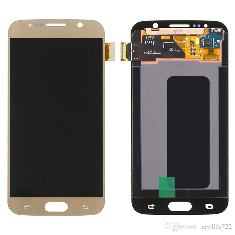 5.1inch Original For Samsung Galaxy S6 G920 G920F G920i G920A Cell Phone Parts Touch Panels Digitizer With LCD Display Assembly Wholesale