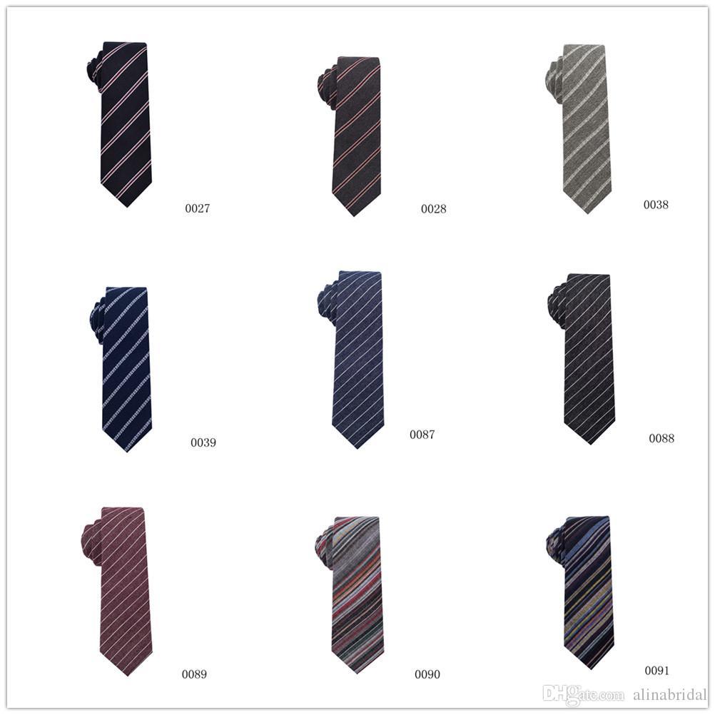 2019 zarif Yeni Moda Kravat Çizgili Erkekler Elbise Kravat Düğün İş Elbise Kravat İçin Erkekler Boyun El Yapımı Düğün Tie Aksesuarlar giymek