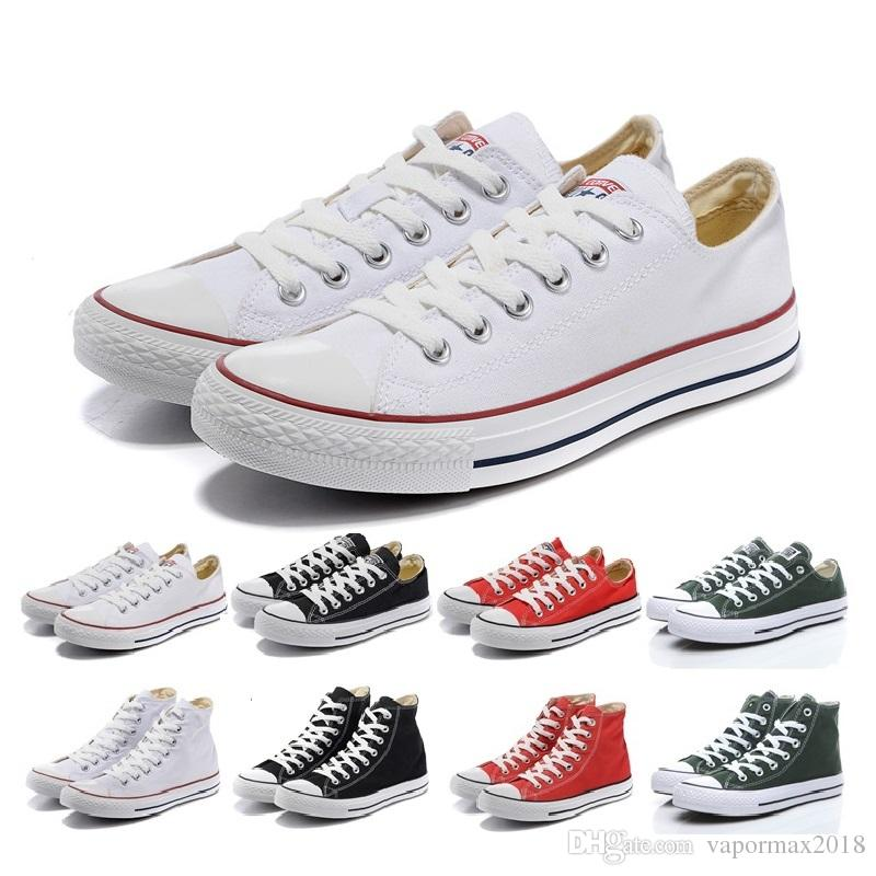 Cheap All Stars Chaussure High Quality New Low High Style Canvas Shoes Zapatillas Deportivas Cool For Women And Men All Size 35-43 Fashion