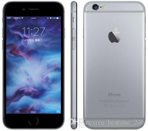 "100% Original Apple iPhone 6 without fingerprint 4.7"" inch 5.5"" inch 2GB RAM 16/64/128GB ROM Unlocked 4G LTE Refurbished cellphone"