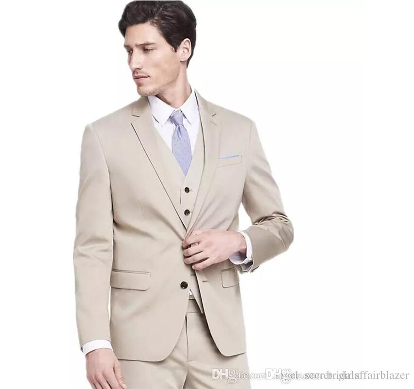 The groom suits tuxedos fashion men formal occasion suits fashion pure color two button groom suits tuxedos(jacket+pants+vest)