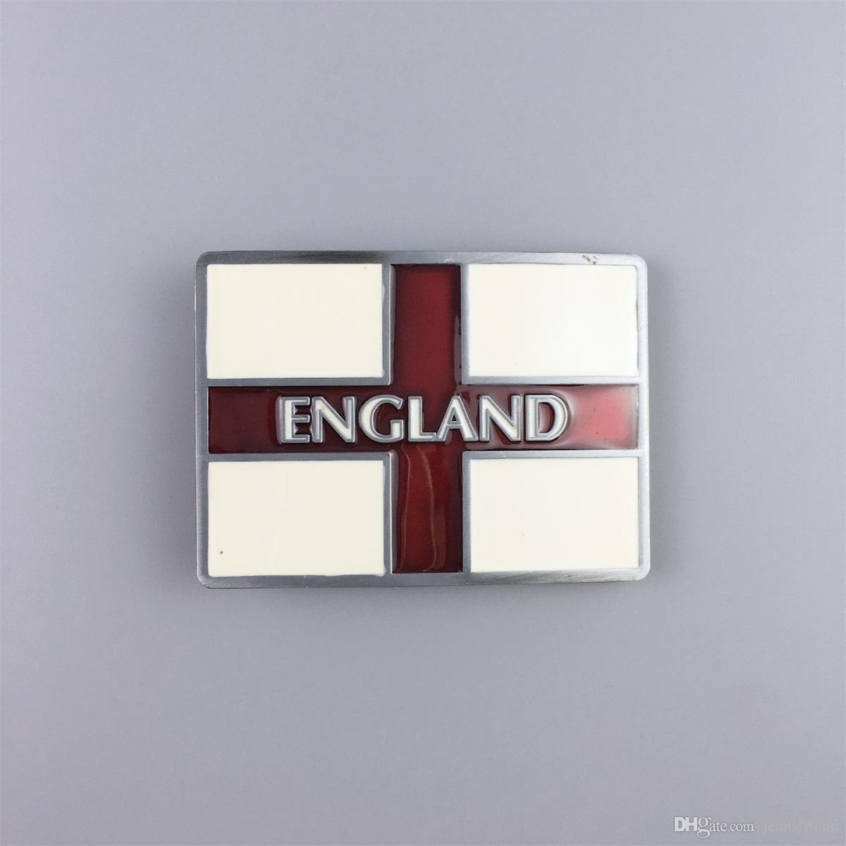 Nueva Inglaterra Vintage UK Flag Esmalte Belt Buckle Gurtelschnalle Boucle de ceinture