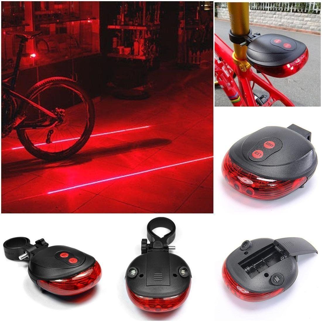 LED Bike Tail Light Tail Warning Light Rear Light Safety For Household Outdoor