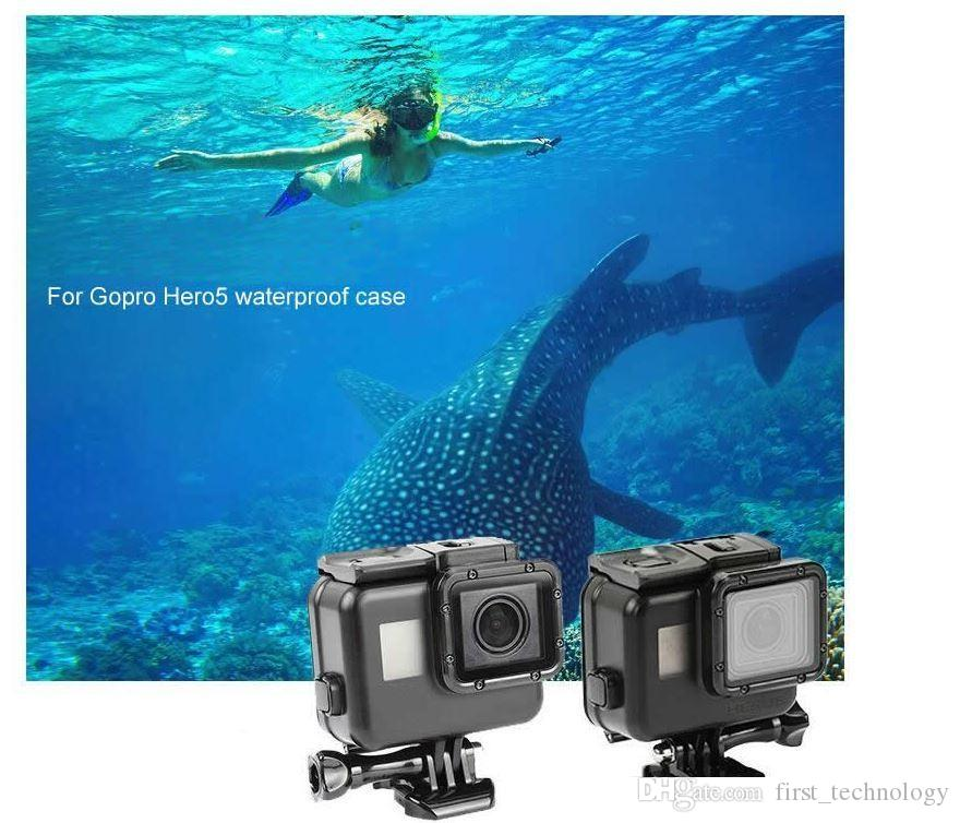 For Gopro Hero 8 7 6 Accessories Waterproof Protection Housing Case Diving 45M Protective For Gopro Hero 6 5 4 3 Camera