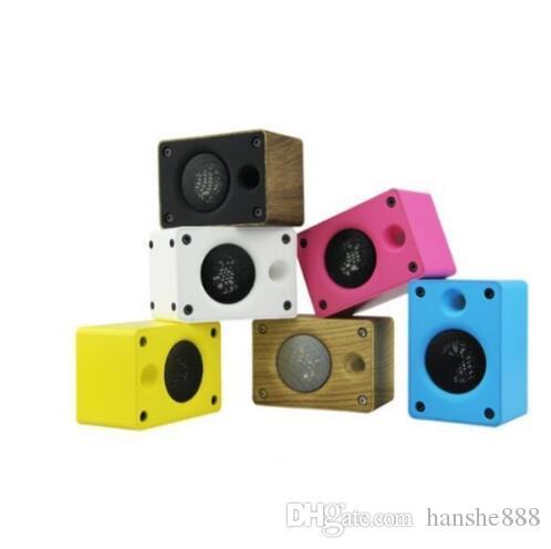 Nuevo altavoz Bluetooth de madera creativo, teléfono con tarjeta, subwoofer, altavoz de audio para regalo.