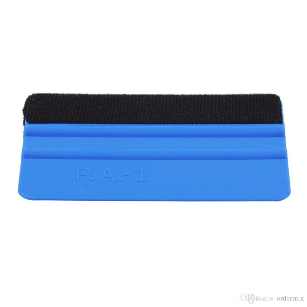 PP 내구성 펠트 포장 스크레이퍼 스퀴지 도구 자동차 창 필름 푸른 색