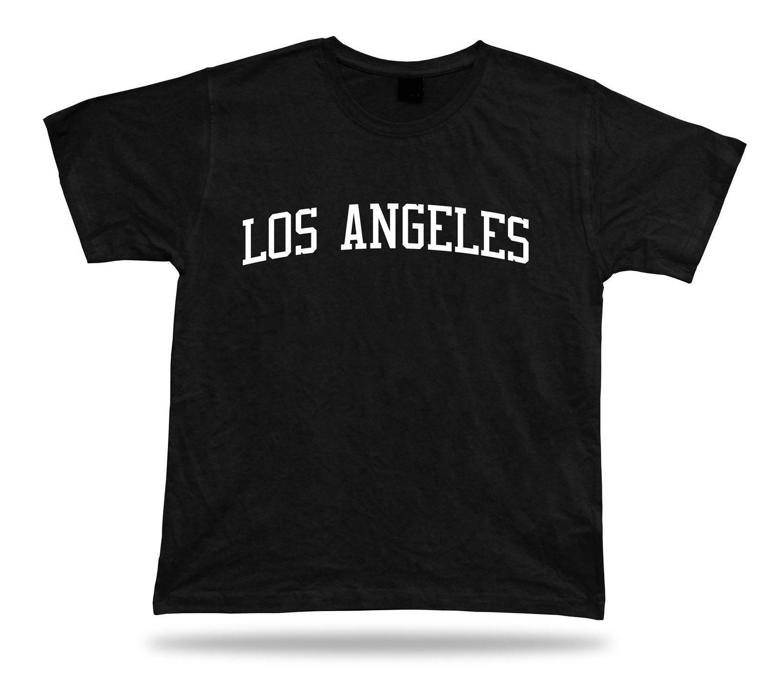 T-Shirt Stylish Classic Apparel ottima idea regalo California City Tee Los Angeles