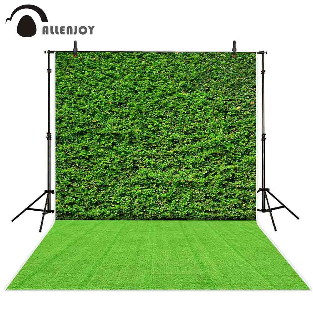 Großhandelsfoto-Hintergrund photocall grüne Betriebswanddekorationsgras-Partei-Feiertätigkeits-Fotografie backdrops im Freien