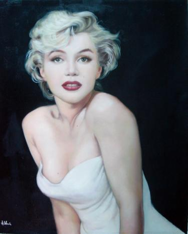 hand painted marilyn monroe painting canvas arts oil paintings gallery canvas painting bedroom art nature painting