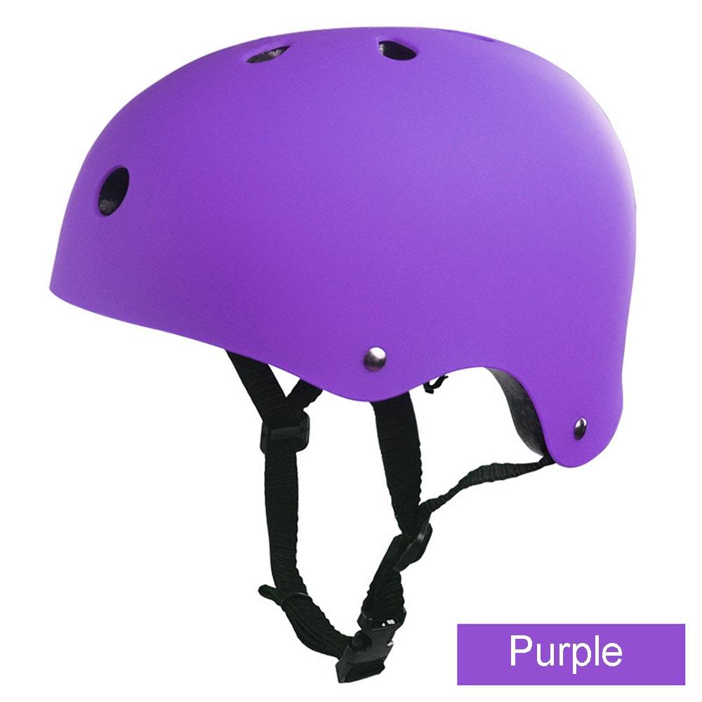 Pure color Mountain Kids Adult Skateboard Cycling Safety Bicycle Helmet Hiking