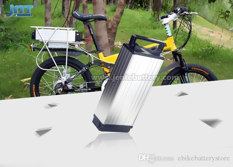 Bafang BBS02 BBSHD için 30A BMS ile 750W 1000W elektrikli bisiklet pil için yüksek kaliteli ebike pil 48v 20ah arka raf pil