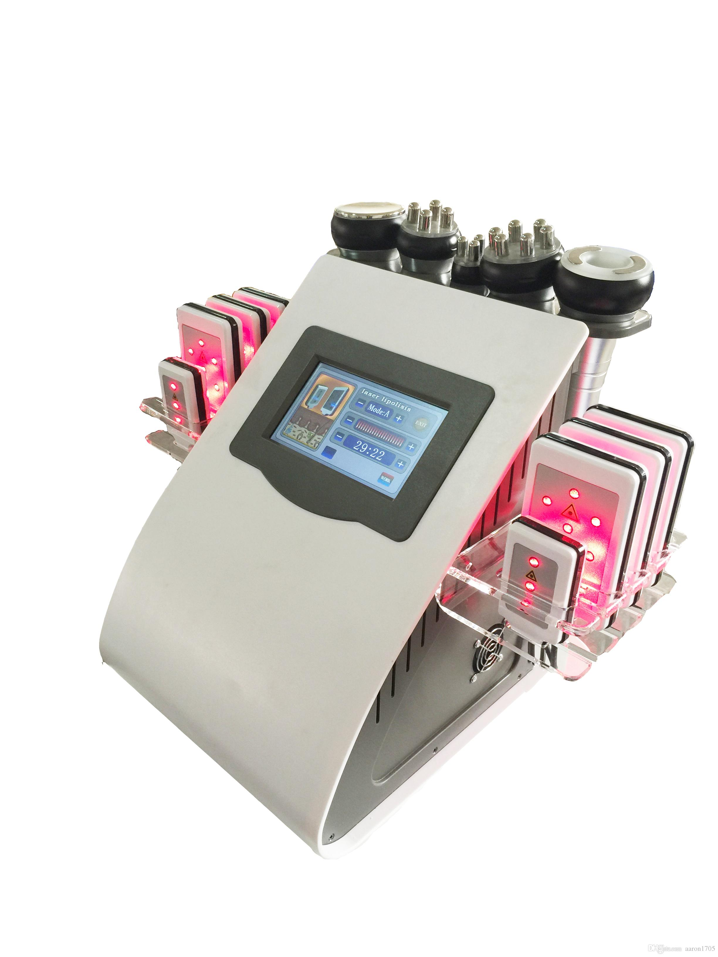 40K cavitation 다극 RF 진공 지방 흡입 수술 장비 LLLT lipo 레이저 미용 장비 피부 관리 살롱 스파 슬리밍 기계
