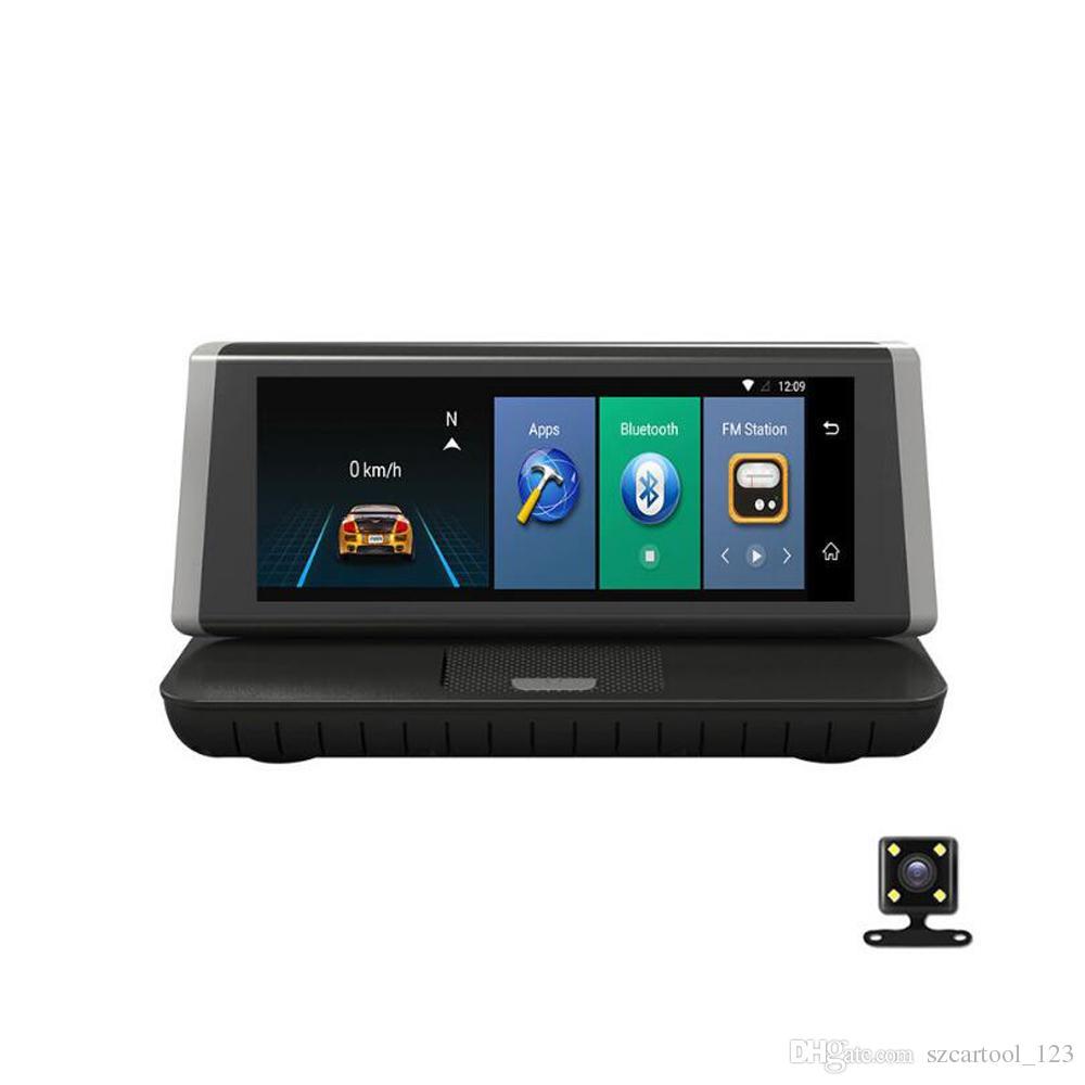 Dashboard 8inch Touch screen smart 4G Android wifi GPS Full HD 1080P car dvr Video Recorder Dual Lens Registrar Dash cam ADAS car dvr camera
