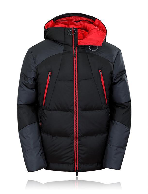 2018 Mens Hooded Duck Down Jacken Mantel Herren Daunenjacke Winter Parkas Paar Kleidung Warm Outwear Mantel 219