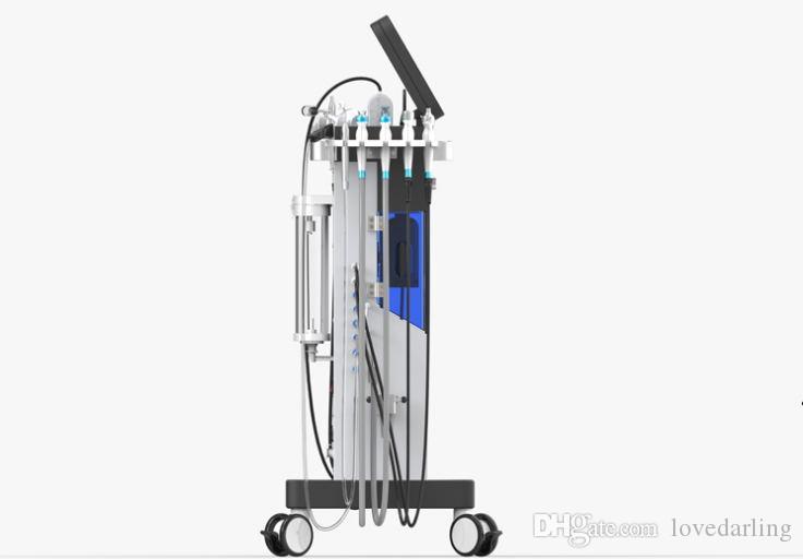 Yeni gelen !!! Çok fonksiyonlu Hydra Yüz mikrodermabrazyon Bio akım oksijen spreyi radyofrekans