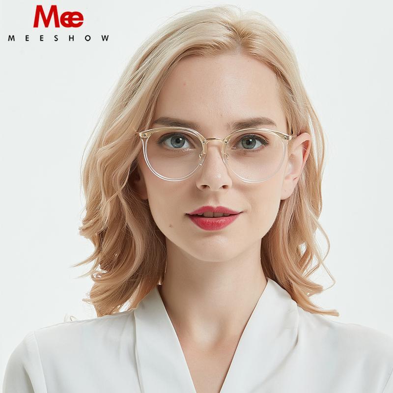 baratas para descuento eda1b 36aa1 Compre Gafas Ópticas MEESHOW Montura Gafas Transparentes Para Mujer Estilo  Elegante Lentes A $40.08 Del Lovesongs | DHgate.Com