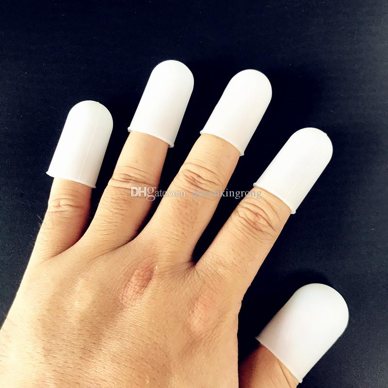 Anti-scald food grade silicone finger Set cover Insulation anti-slip finger protector Barbecue fingertip artifact 5pcs/set