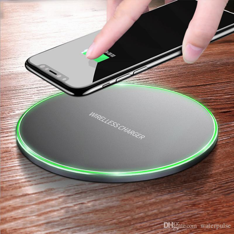 SUNBOST Qi Wireless Charger For iPhone 8/X Fast Wireless Charging for Samsung S8/S8+/S7 Edge Nexus5 Lumia 820 USB Charger Pad