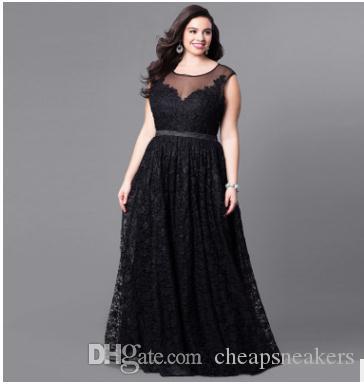 Nueva llegada Vestido de talla grande Vestido de encaje Fiesta de gran tamaño Vestido largo Ventas calientes en Europa y Estados Unidos
