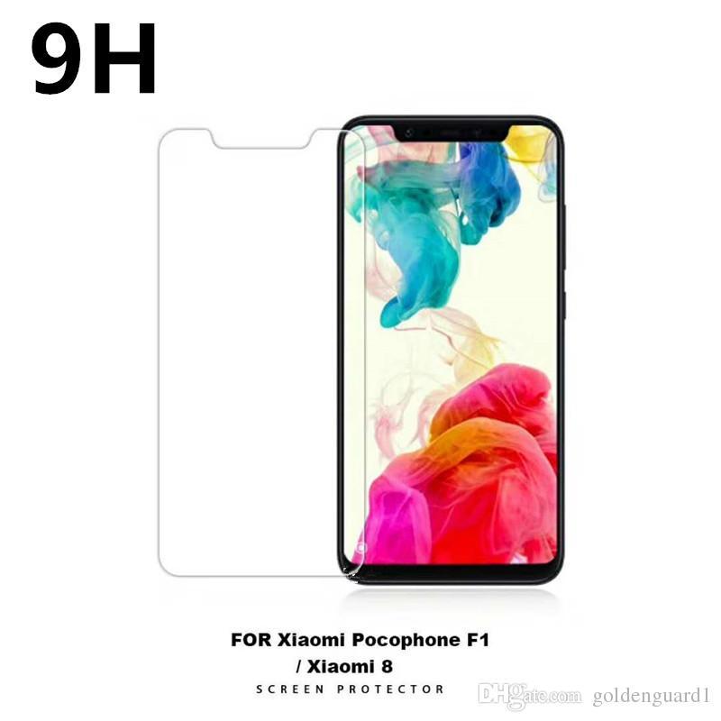 Film de protection d'écran en verre trempé pour Xiaomi 9 SE Pour Xiaomi Mi 8 Pro 8E 8X Lite A2 Pocophone F1 MiX 3 Redmi Note 6 6A Note 7 6 Pro