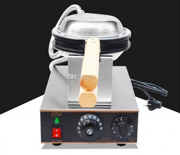 HongKong Lezzetli gıdalar Yumurta Waffle Makineleri Makine Yumurta Ponponları Maker Kabarcık Waffle makinesi satın DHL FEDEX Ücretsiz