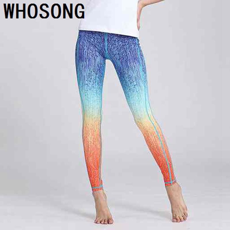 diseño innovador d810a f8021 2019 Sports Leggings Yoga Pants Leggins Women Fitness Sportswear Gym  Leggings Soft Flexible Running Exercise Workout Clothing From Cumax, $30.05  | ...