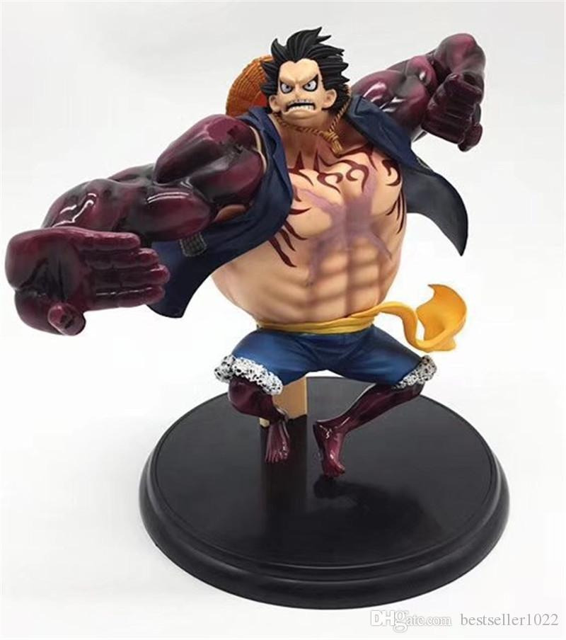 2019 Hot Selling One Piece Monkey D Luffy Gear Fourth Action Figures Pvc Anime Toys Japanese Anime Toys From Bestseller1022 25 13 Dhgate Com