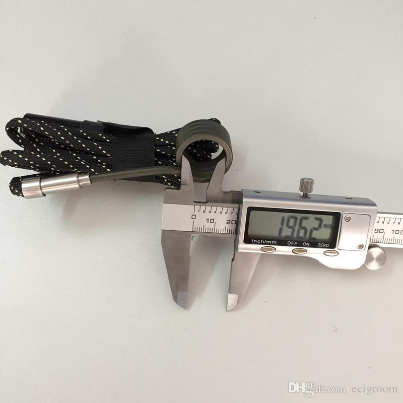 20mm 16mm Bobin Isıtıcı Enail Dnail DIY Sigara Içen D Dijital Tırnak Bobin Için Kuvars Tırnak Titanyum Çivi cam yağ rig bong