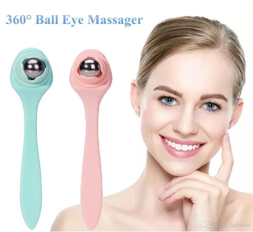 Soins de Beauté Mini Appareil De Massage Multifonctionnel Portable Balle De Beauté Masseur Pour Les Yeux Rouleau Remover Cernes Sombre Anti-Oeil Sac PouchWrinkle
