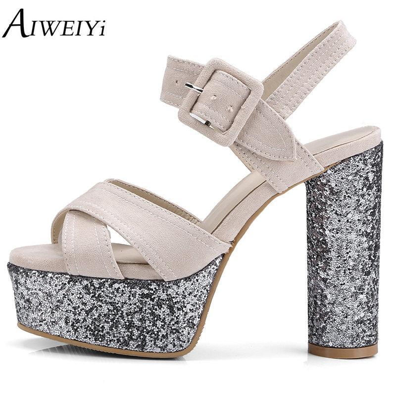 Wholesale Women Sandals Glitter Summer