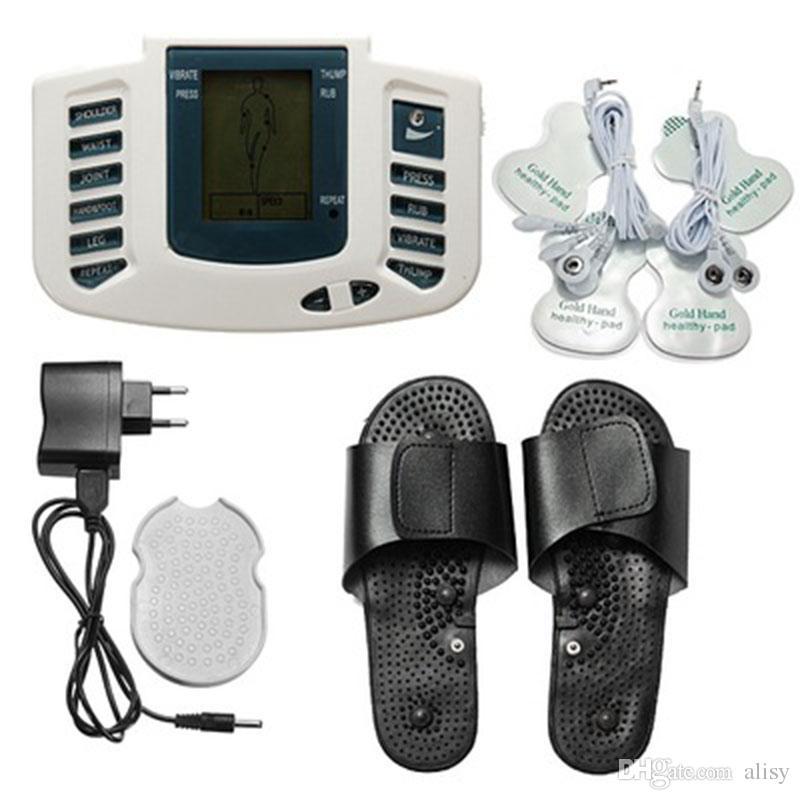 JR309 электрический мышечный стимулятор всего тела расслабиться массажер здоровье Мышечная терапия массажер электро импульсный десятки акупунктурный массаж