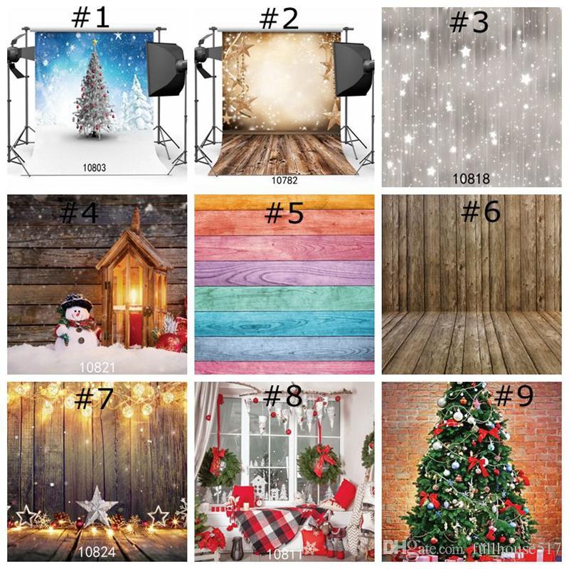Weihnachten Hintergrun Gift Box Haus Feier Hintergrund Foto Background Studio prop Home Decor Wallpaper für Weihnachten
