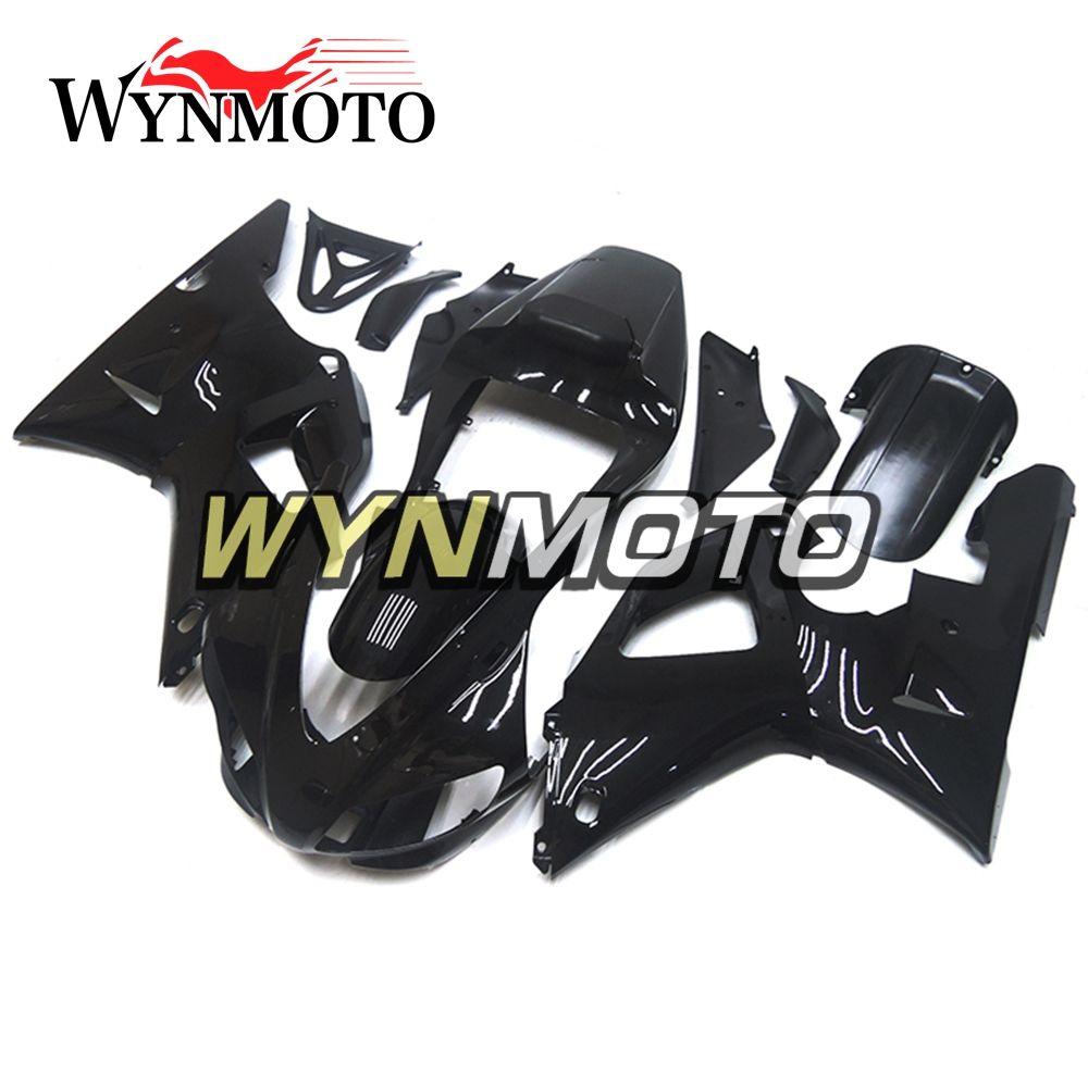 Full Body Frames For YZF1000 R1 1998-1999 98 99 Injection ABS Plastics Fairings Gloss Black Cowling Motorbike Hull Yamaha R1 Frames Bodywork