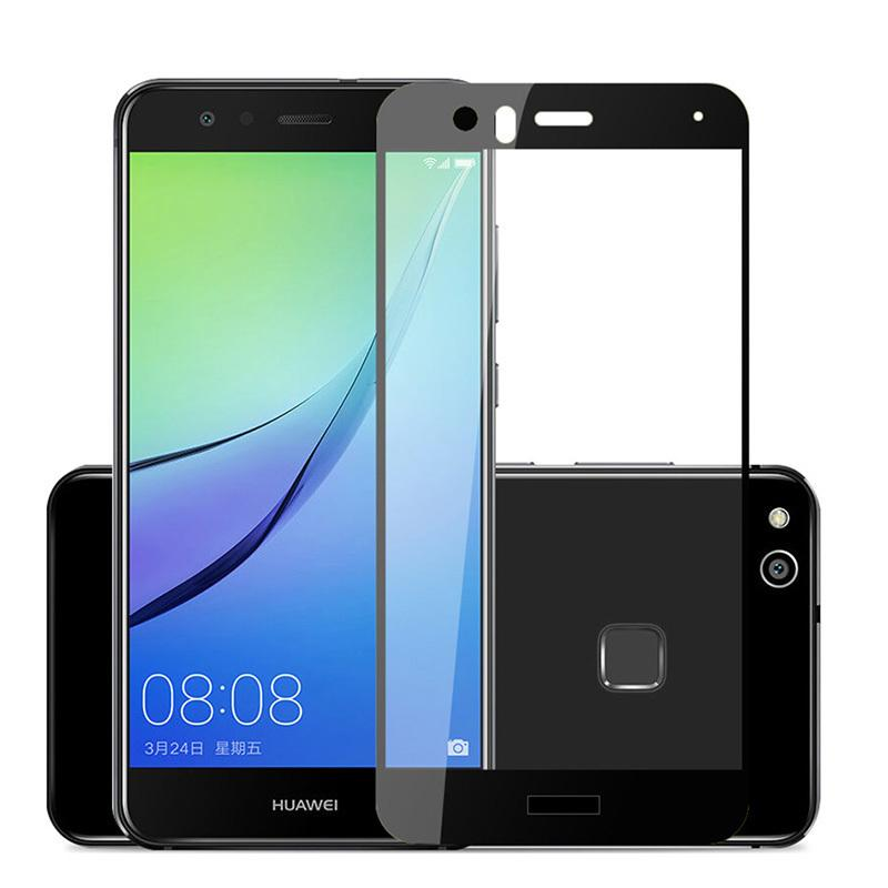 3D Full Cover Tempered Glass For Huawei P10 Lite P9 Plus P8 Lite ...