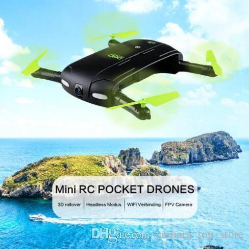 JJRC DHD D5 Selfie FPV Дрон с HD Camera Складные RC Карманные Дроны Телефон Управляйте Вертоптер Mini Drone JJRC H37 523 Quadcopter