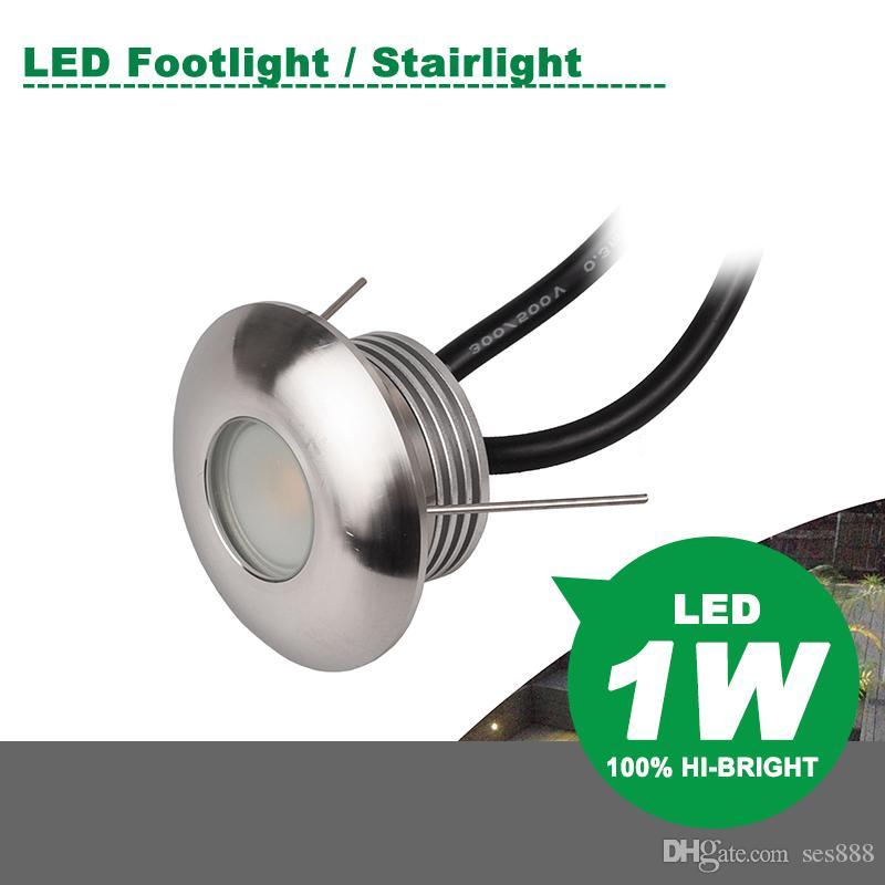Mini LED Buried Light 1W DC12V Spotlight Wall light Garden Light Lawn Lights Energy saving lamp Warm white Nature white Cold white