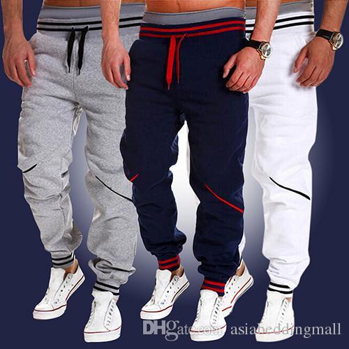 Новый продукт мужская мода Jogger танец носить мешковатые гарем брюки брюки брюки штаны
