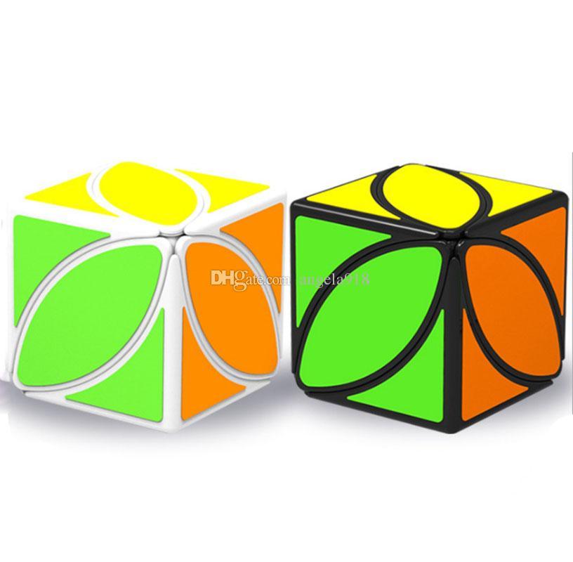 56 * 56 * 56mm Dönüşümü Geometrik Bulmaca Maple leaf Sihirli Küp Fidget Infinity Yenilik 2nd-sipariş küp Anti Stres Oyuncaklar Çocuklar Yetişkinler Için C4929