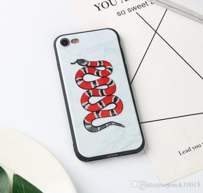 2019 Creative Tide Marke iPhoneXS MAX Handyetui Schlange mattes Handyetui kundenspezifisches drahtloses Ladegerät