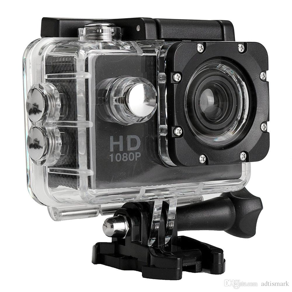 Hot selling Action Camera HD 1080P Digital Sports DVing Photo Cam underwater Waterproof cameras 30M Camcord 2.0 Inch Mini Video Cam