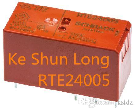Free shipping lot(5pieces/lot)100%Original New RTE24005 RTE24012 RTE24024 RTE24048 8A250VAC 8PINS Power Relay