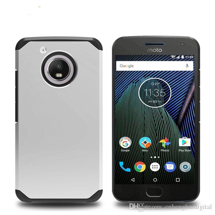 Armor Case For Motorola MOTO E4 Coolpad 3632 Google Pixel XL 2 TPU PC Dual Layer Cell Phone Case Cover OPP bags