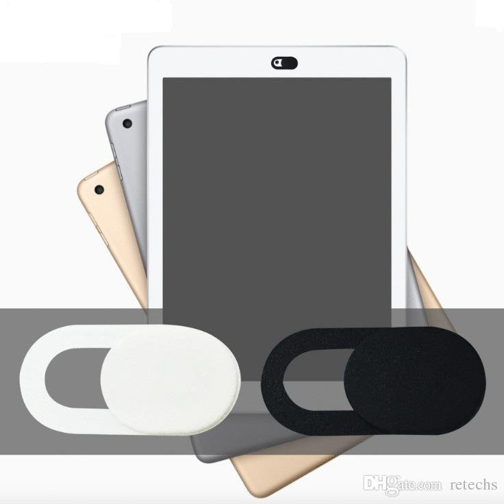 Webcam capa para privacidade, capa de câmera para computadores Laptops Smart TV's webcams externos super fino 0,022 polegadas com embalagens de varejo