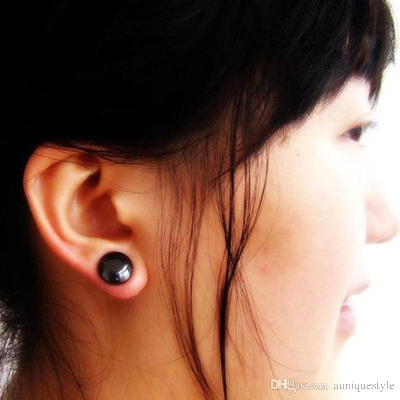 Unisexe perte de poids Boucles d/'oreilles SAIN STIMULANT acupoints Stud Thérapie Magnétique