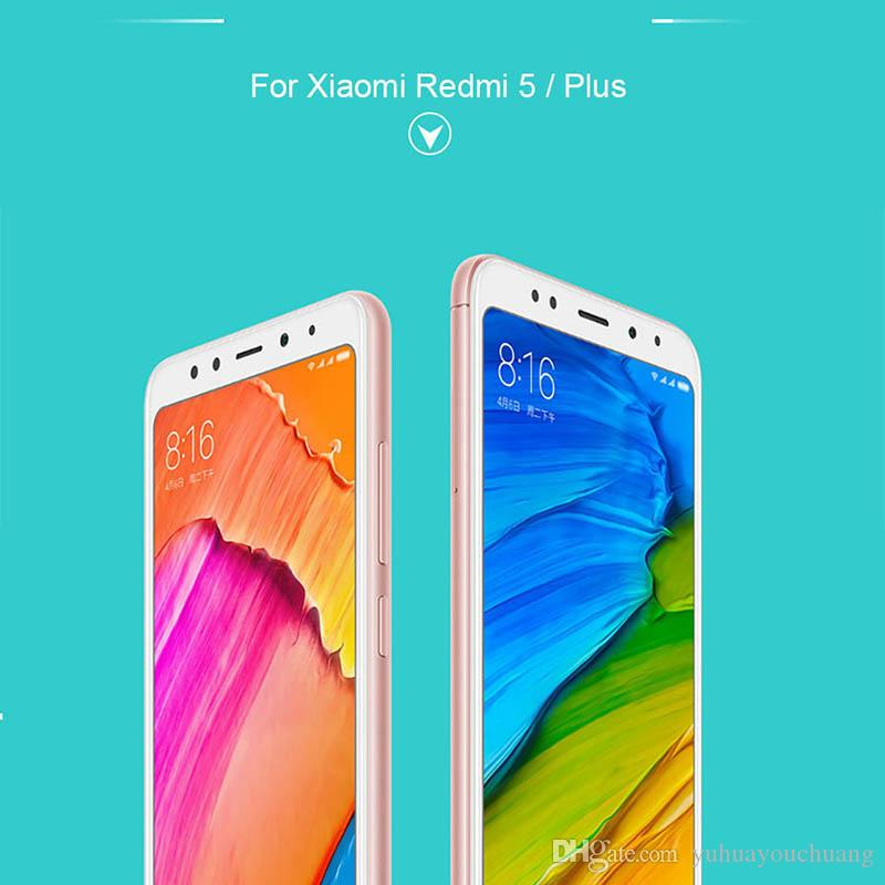 For Xiaomi Redmi 5 Plus Note 5 Pro Note 5A Pro Mi A1 4X Tempered Glass  Color Full Screen Protector 3D Curved Glass Tempered Screen Protector  Mobile