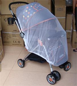 Los bebés red de insectos blanco cochecito de bebé Cochecito Mosquito segura de malla Buggy Cuna Red Cesta Mosquitera