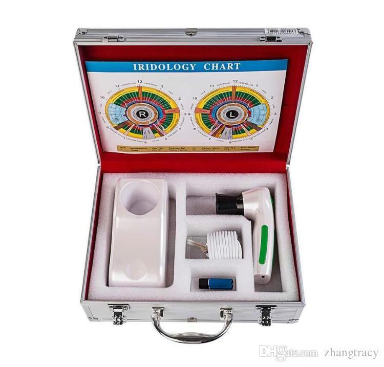 2018 أحدث! المهنية الرقمية iriscope iridology كاميرا آلة اختبار العين 12.0mp القزحية محلل ماسحة ce / dhl