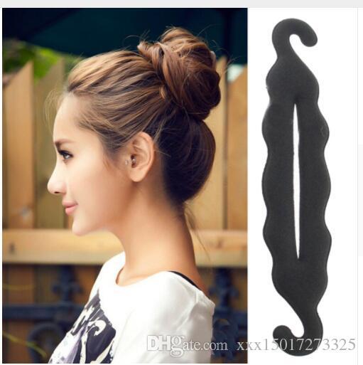 Magic Hair Styling Tools Bun Hairpins Hairdisk Meatball Head Rubber Clip Hair Accessories For Women Hair Braiding Tool